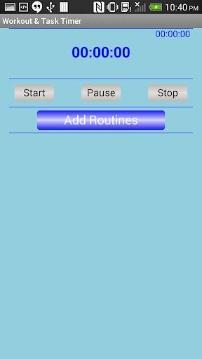 Workout Task Timer