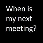 Next Meeting icon