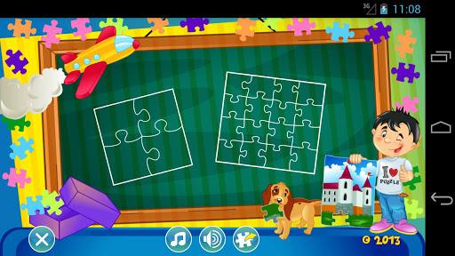 子ども向けジグソーパズル LITE