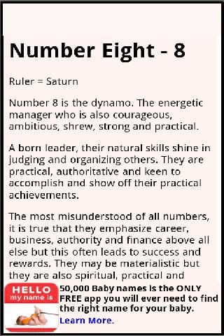 name numerology number 17