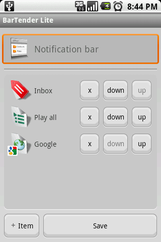 BarTender Lite - screenshot