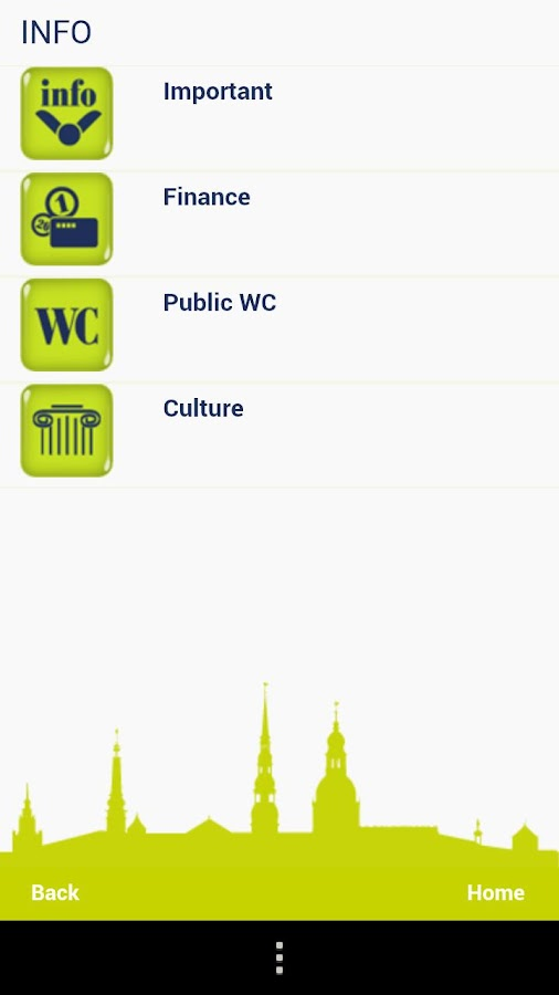 Riga Tourist Guide- screenshot