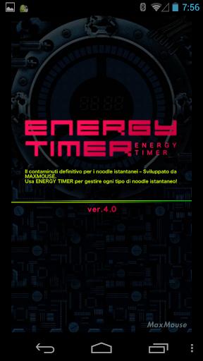 Energy Timer Italian English