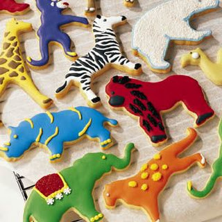 Animal Cutout Sugar Cookies