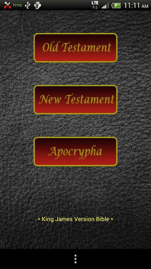 Audio Bible (KJV) - screenshot