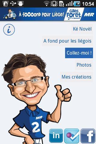 Gilles Foret– Capture d'écran