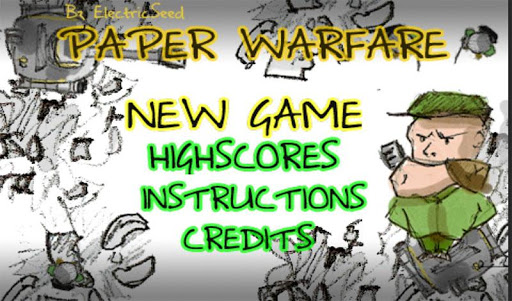 【免費街機App】Paper Warfare Smasher-APP點子