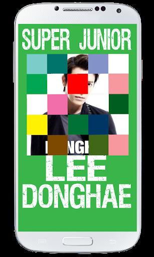 Lee Donghae SuJu Puzzle