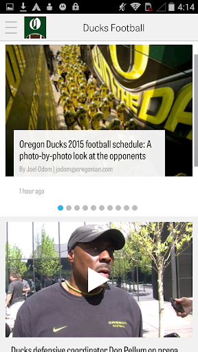 OregonLive: Ducks Football