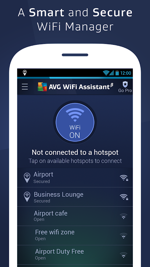 AVG Secure WiFi Assistant - screenshot