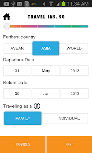 SG Travel Insurance screenshot 1