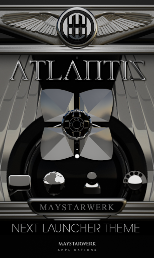 Next Launcher Theme Atlantis