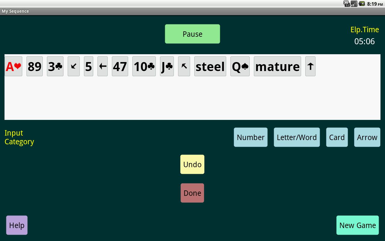 Elephant Mega Memory Pro- screenshot
