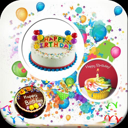 生日快樂卡貼 LOGO-APP點子