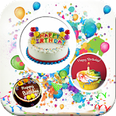 Happy Birthday Cards Stickers