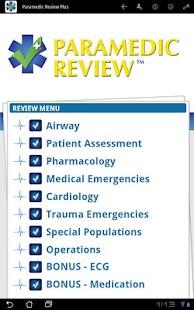 Paramedic Review Plus™- screenshot thumbnail