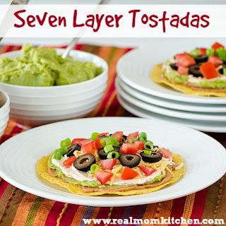 Seven Layer Tostadas