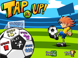 Screenshot of Tap it Up! Keepy Uppy Game