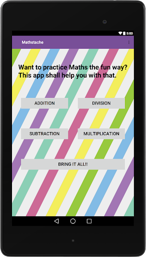 【免費教育App】Mathstache: Practice Math-APP點子
