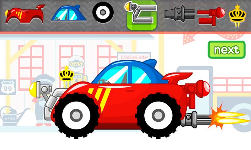 Build A Car Games For Kids