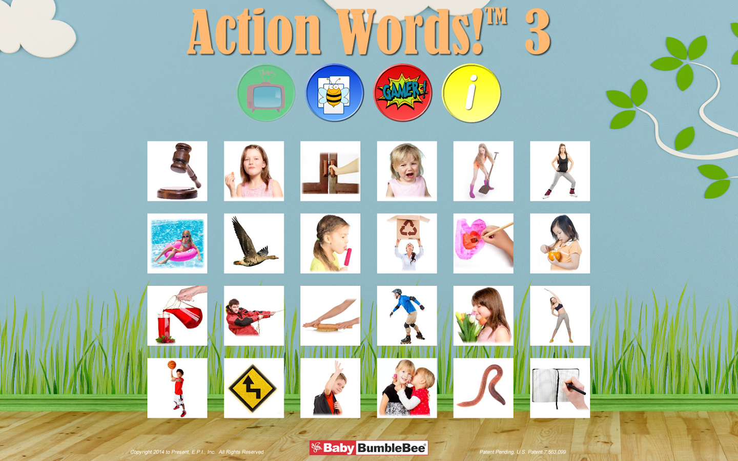 action words flashcards android apps on google play action words 3 flashcards screenshot