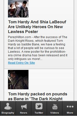 Tom Hardy Uncovered - screenshot