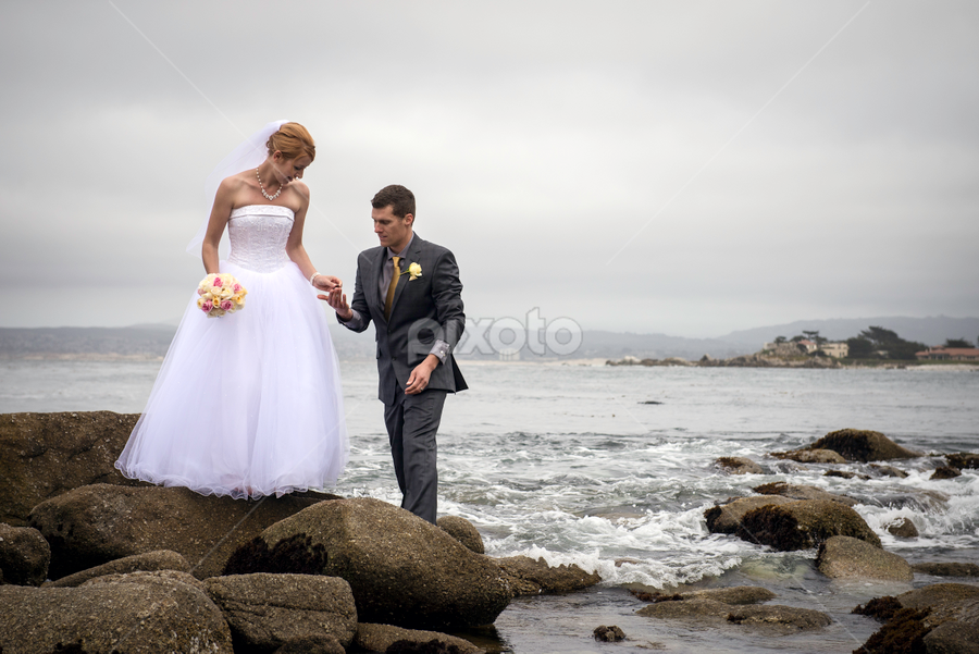 by Michael Keel - Wedding Bride & Groom