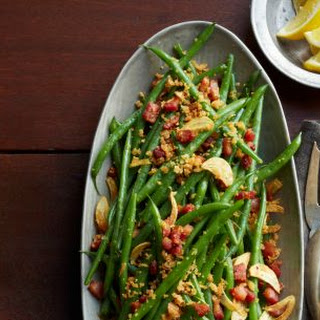 Haricots Verts with Pancetta