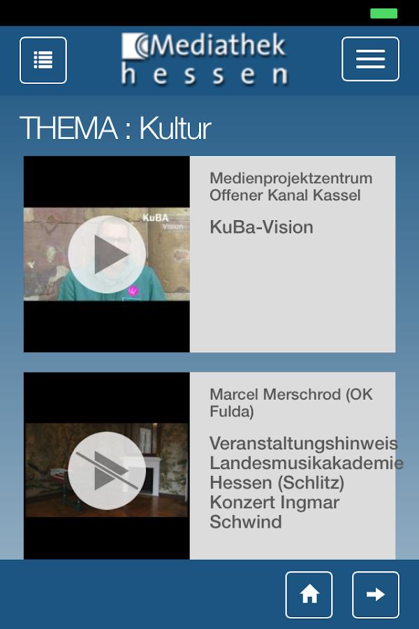 Mediathek Hessen- screenshot