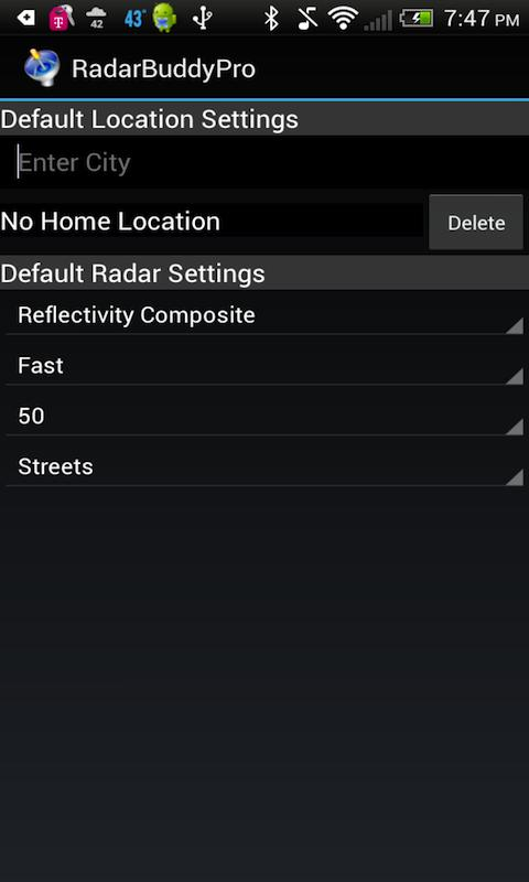 Radar Buddy- screenshot