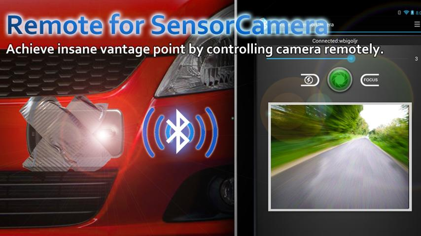 Sensor Camera - screenshot