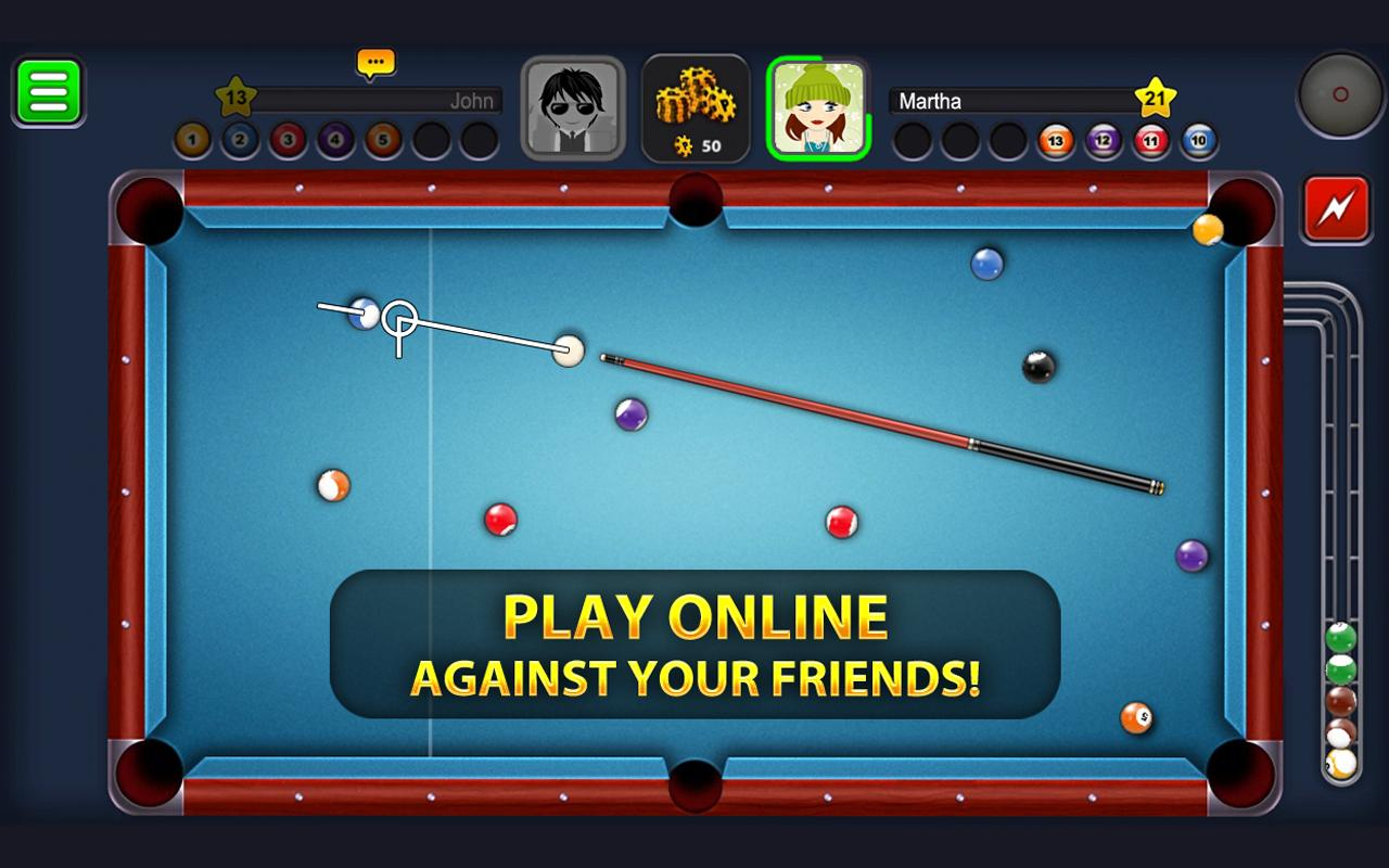 play 8 ball pool online