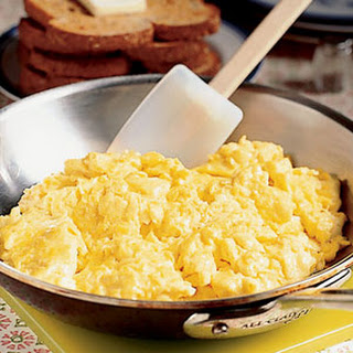 Creamy Scrambled Eggs.