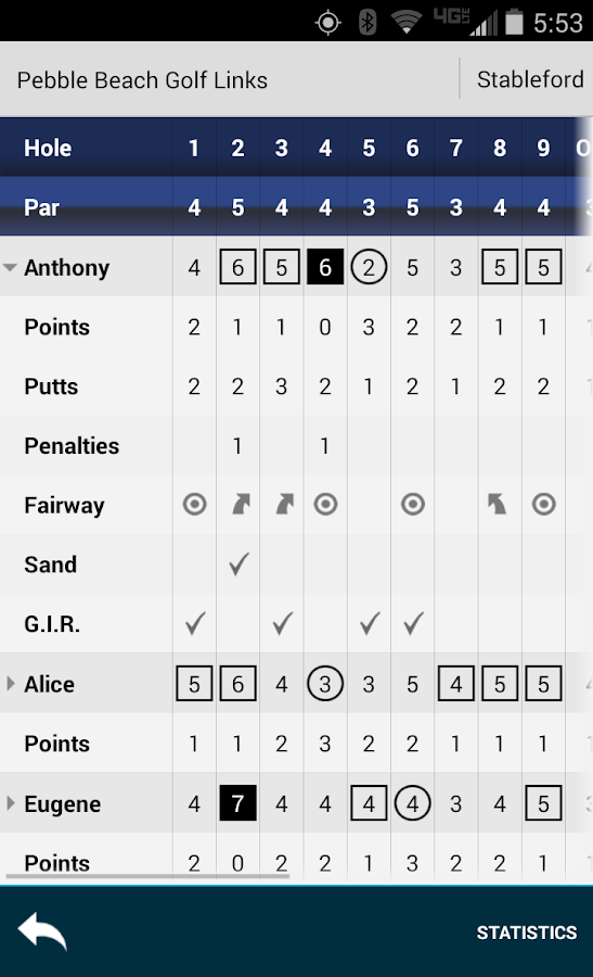 Golf GPS Rangefinder: Golf Pad- screenshot