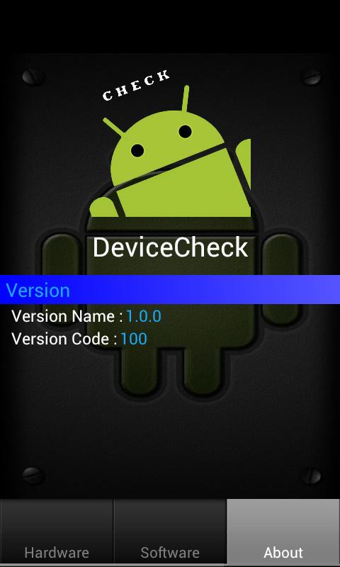 Mini Device Check - screenshot