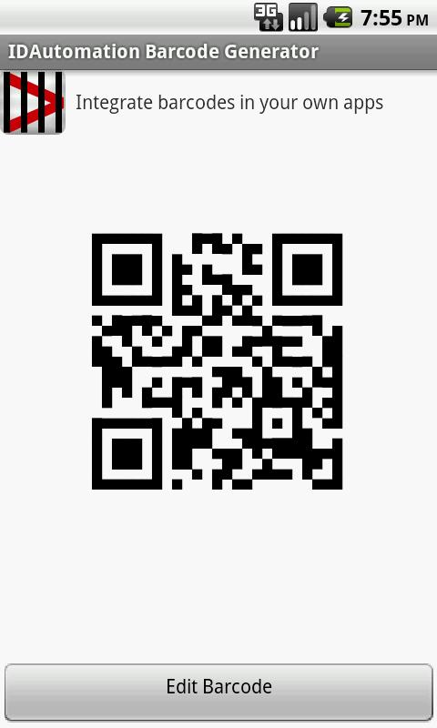 IDAutomation Barcode Generator- screenshot