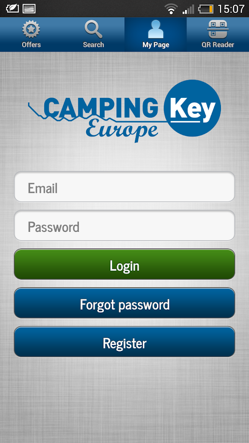 Camping Key Europe - screenshot