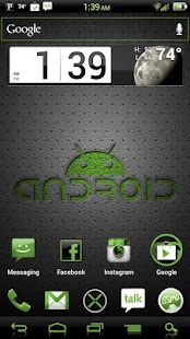 NateModz Green CM10 Theme- screenshot thumbnail