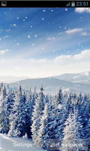 【免費攝影App】Winter Snow Live Wallpaper-APP點子