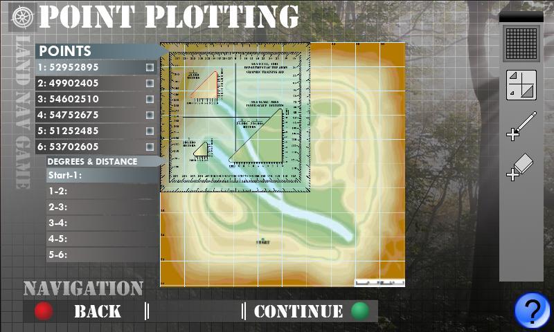 Land Navigation- screenshot