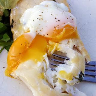 Sous Vide Supreme Smoked Haddock And Poached Egg.