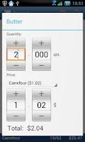 Screenshot of Pocket Shopping