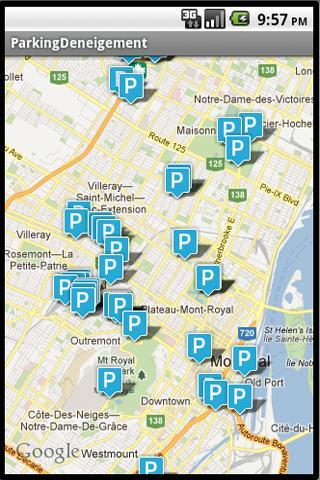 Parkings Gratuits Montréal