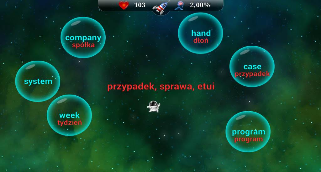 English Words for Poles- screenshot