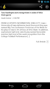 Hawkeyes News - screenshot thumbnail