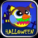 Angry Owl Halloween icon
