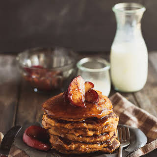 Whole Grain Pumpkin Pancakes.