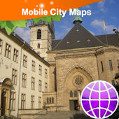 Luxembourg Street Map