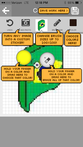 PixelChat:像素艺术信息