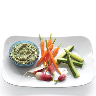 Creamy Spinach and Sweet-Onion Dip With Crudites